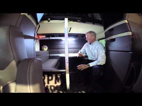 Inside the NEW VNL780 Volvo Truck   2015 Mid America Truck show!