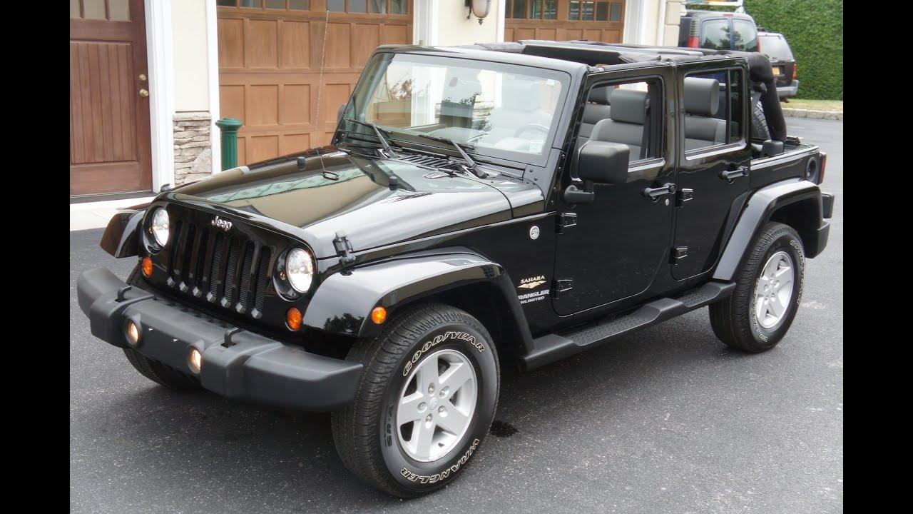 2007 jeep wrangler sahara unlimited for sale black soft. Black Bedroom Furniture Sets. Home Design Ideas