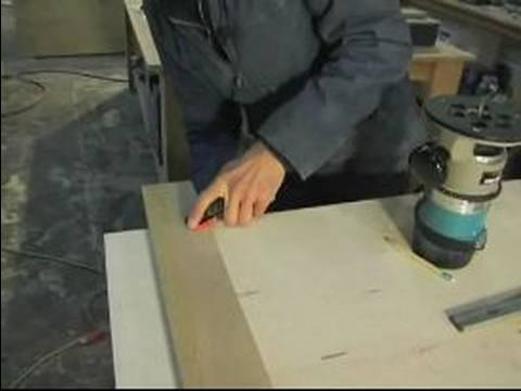 How to Use Wood Routers : How to Cut a Straight Line with a Router