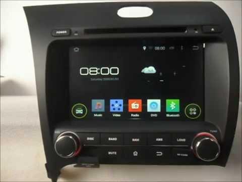 Android Auto DVD system for Kia Forte 2013-2014 Car GPS Radio Bluetooth Wifi 3G Internet