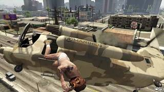 GTA V Unbelievable Crashes/Falls - Episode 50