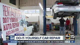 Do-it-yourself car repair shop can save you serious cash