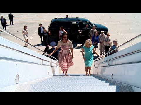 Travels with the First Lady and Dr. Biden - Joining Forces Launch