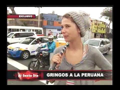Gringos a la peruana: ganándose la vida sol a sol en Lima