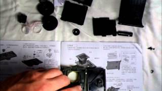 Assembling the Recesky Plastic TLR Camera -- Video 3