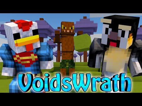 Minecraft Voids Wrath Modded Survival Ep 10 THE HAVEN DIMENSION WAR