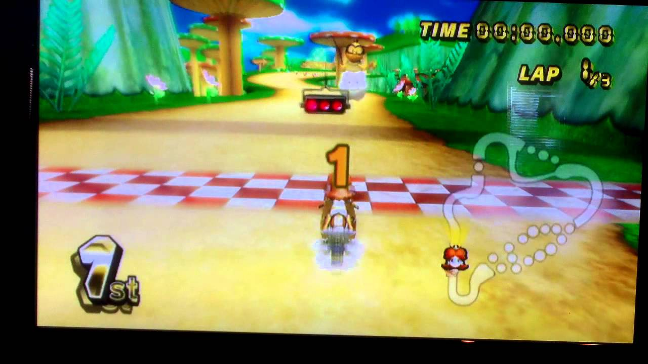 Mario kart wii walkthrough part 25 mirror mushroom cup for Mirror gameplay walkthrough