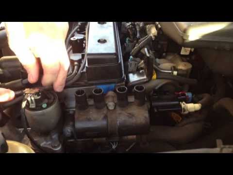 Changing the ignition coil on a Suzuki