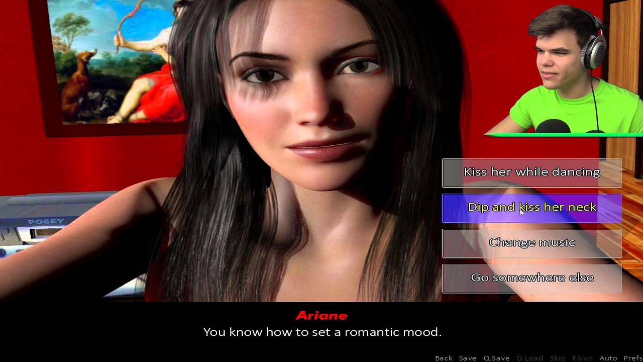 Dating simulator ariane how to get her in bed