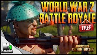 Cuisine Royale - NEW World War 2 Battle Royale Game (FREE)