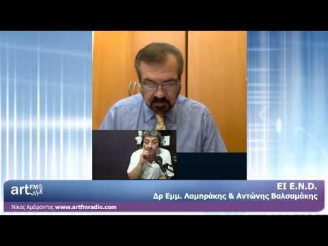 ΕΙ - Ε Ν D. Λαμπράκης, Βαλσαμάκης 23.5.2014 artFM Radio Cyprus