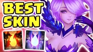 NEW ELEMENTALIST LUX JUNGLE SPOTLIGHT | BEST SKIN EVER | NEW META FULL AP - Nightblue3
