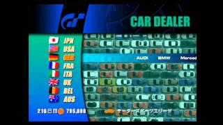 Gran Turismo 3 - Menu Walkthrough