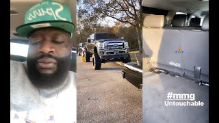 Rick Ross Shows The First Bulletproof Truck He Bought From Money Made Off Port Of Miami Album