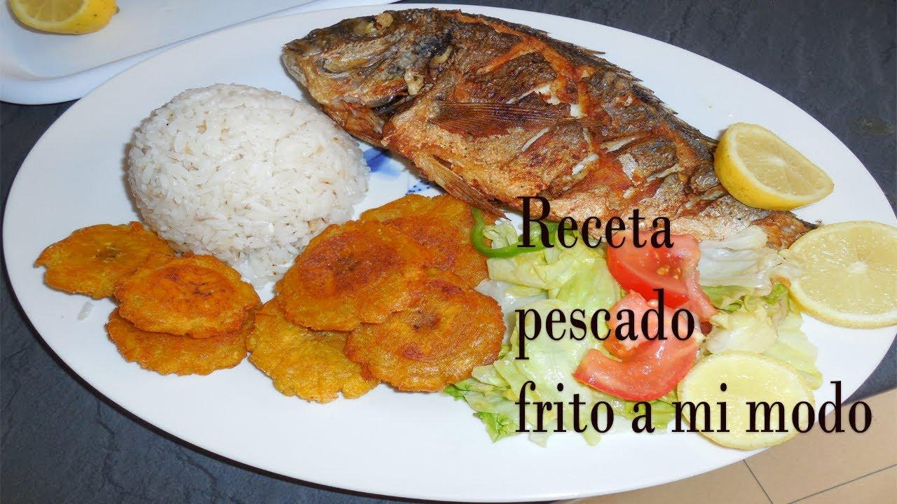 Pescado Frito Nicaragua Receta de Pescado Frito a mi