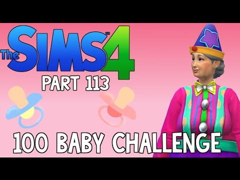 The Sims 4: 100 Baby Challenge - Incognito Costume Party (Part 113)