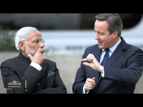 PM Narendra Modi's UK Visit | Modi Raises Student Visa Issue With Cameron