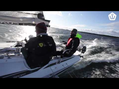 Dragonfly 28 Sport -- fun and fast trimaran for familys