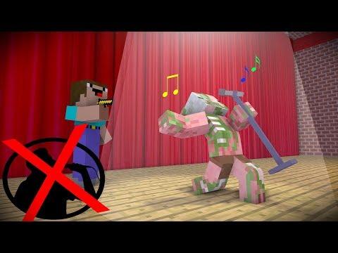 Monster School : FAIIL SINGING CHALLENGE | Minecraft Animations