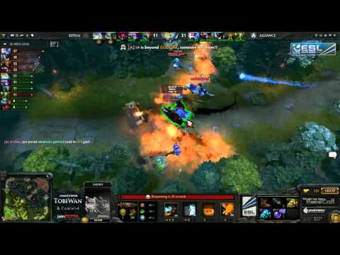 The Alliance vs Venom   RaidCall EMS One Summer Cup #4   TobiWan