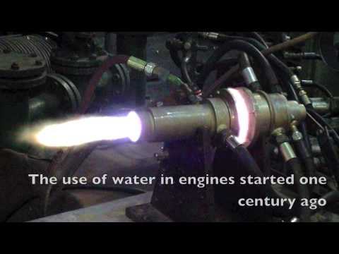 They've used water in their engines