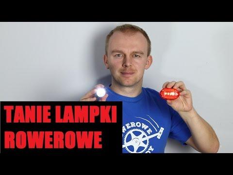 Tanie Lampki Rowerowe Do 20 Złotych Za Komplet - TEST #70 Rowerowe Porady