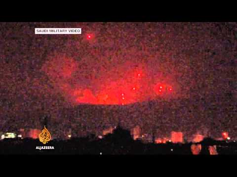 Many dead in 'air strike on north Yemen refugee camp'