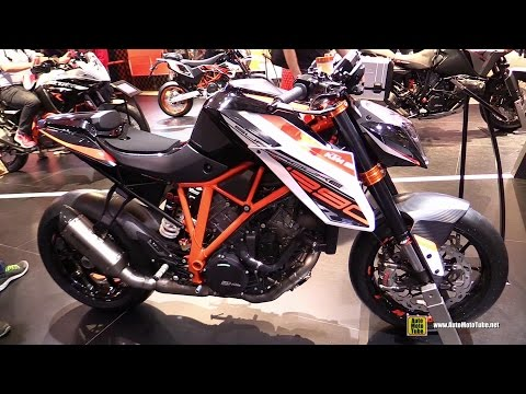 2015 KTM 1290 Super Duke R - Walkaround - 2014 EICMA Milan Motorcycle Exhibition