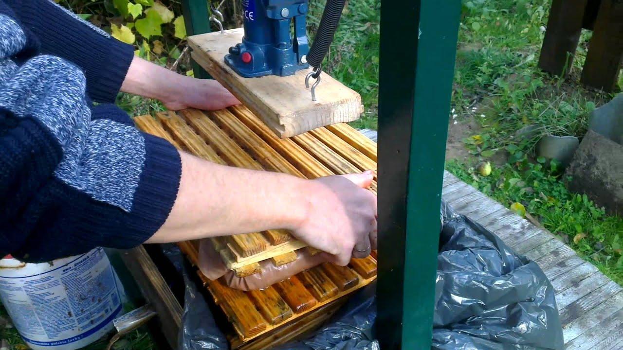 Соковыжималки для большого количества яблок своими руками