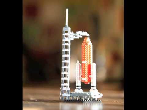 Ghép hình NanoBlock   Space Centre   Đồ chơi Nhật Bản Hitomi