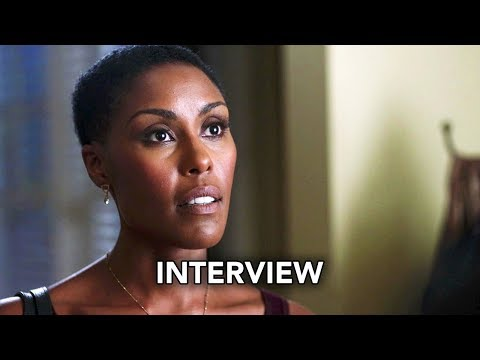 Black Lightning (The CW) Christine Adams Interview HD