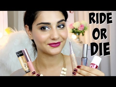 MY TOP 5 RIDE OR DIE PRODUCTS | EVERYDAY MAKEUP FAVOURITES | SIMMY GORAYA