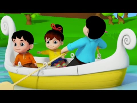 Junior Squad | Row Row Row Your Boat | Nursery Rhymes | Kids Songs