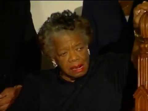 Maya Angelou at St. Sabina moved to tears by Dance Ministry\'s \