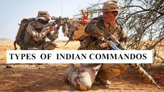 Types of Indian Commandos 2017