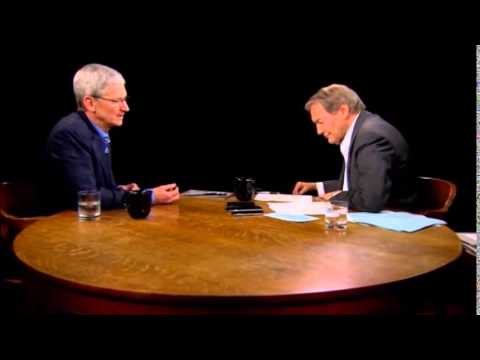 Tim Cook interview with Charlie Rose Part 2 (9-14-14)
