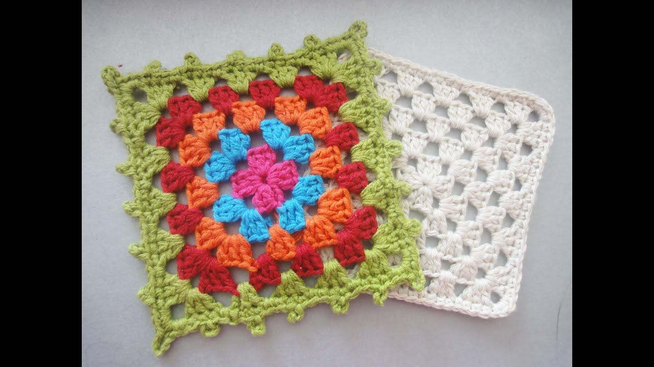 Вязание бабушкин квадрат фото