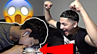 Asking my little brother to do DR*G$ with me PRANK! 🤯😂