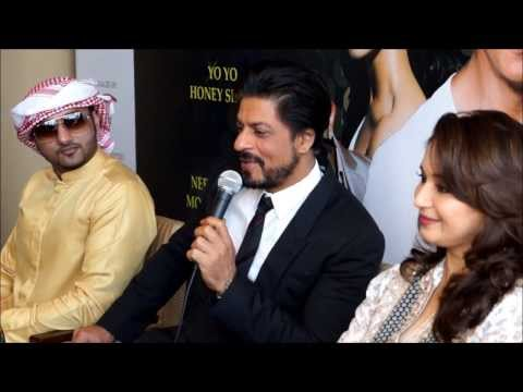 SRK Madhuri Dixit and Yo Yo Honey Singh in Dubai Access all...