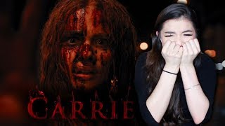 Girl Who's Scared of Everything Watches Carrie, A Horror Movie.