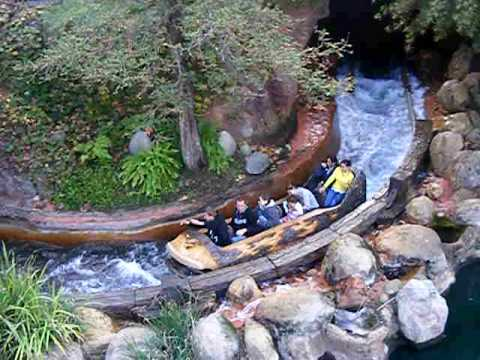 Log Flume Disney Disneyland Log Flume