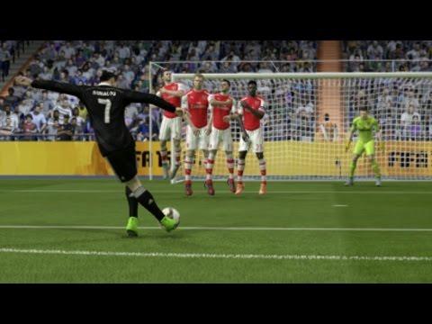 FIFA 15 Rabona Free Kick Tutorial