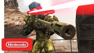 Rogue Trooper Redux Launch Trailer - Nintendo Switch