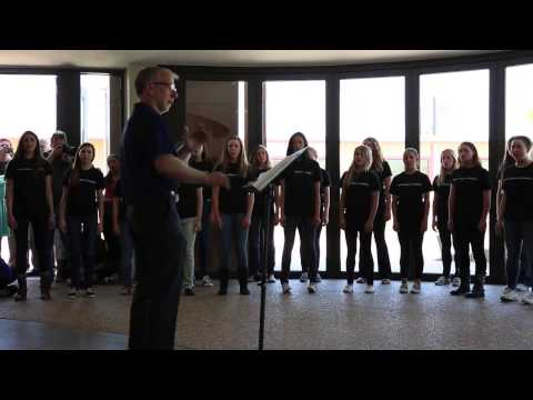"Philippines 2014: ""Rosas Pandan"" Sung by American Choir (Pacific Ridge School CA USA)"