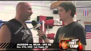 Goldberg fighting MMA