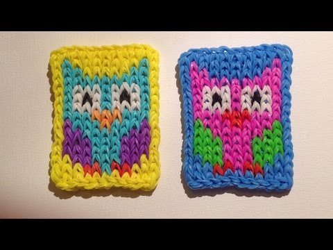 Play tuto rainbow loom mural sans fond titi grosminet for Mural en elastique