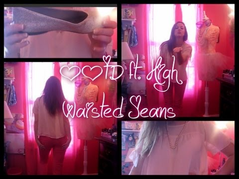 A Girl In A Pink World- Ootd Ft. High Waisted Jeans video