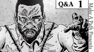 DEAD LIVING Q&A #1 [Creator/Writer Ronny Haze & Artist James Milne]