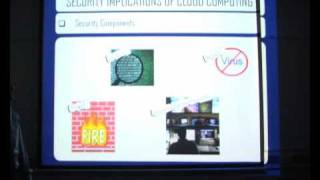 Security Implication of Cloud Computing - Part 1