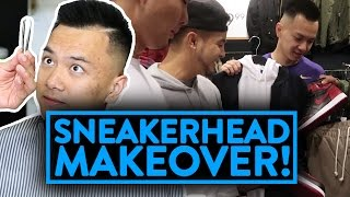 SNEAKERHEAD GETS A MAKEOVER! (More than just kicks!) | Fung Bros